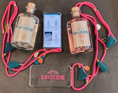 Gin de Cologne mit Handykette 1